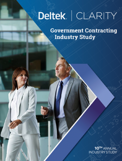 Preview of 10th Annual Deltek Government Contracting Industry Study