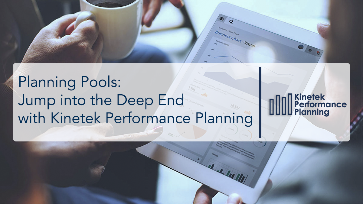 Planning Pools: Jump into the Deep End with KPP