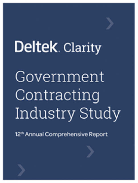 Preview of 12th Annual Deltek Clarity GovCon Industry Study