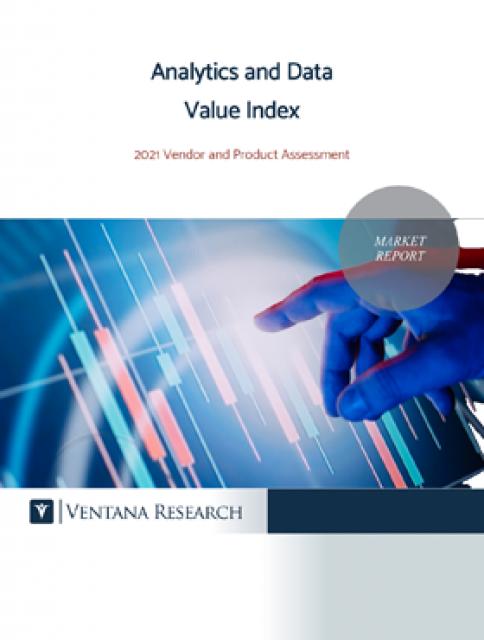 Preview of Ventana Vendor Analytics and Data Value Report