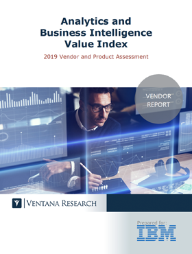 Ventana Vendor Value Report