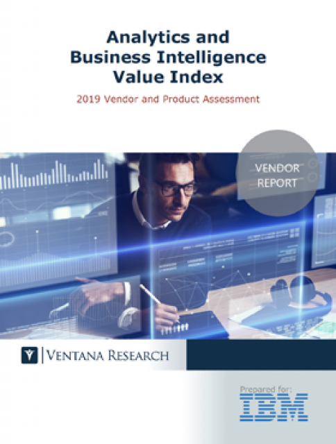 Preview of Ventana Vendor Value Report