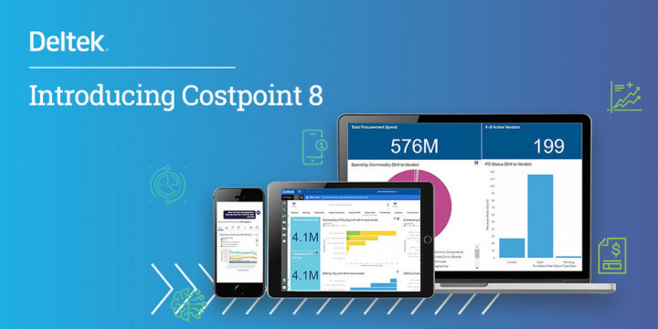 "Eight reasons to ""upgrade"" to Costpoint 8 today!"