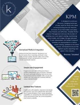 Kinetek Performance Management